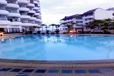 Condo on Pratumnak Hills for Rent with Direct Seaview